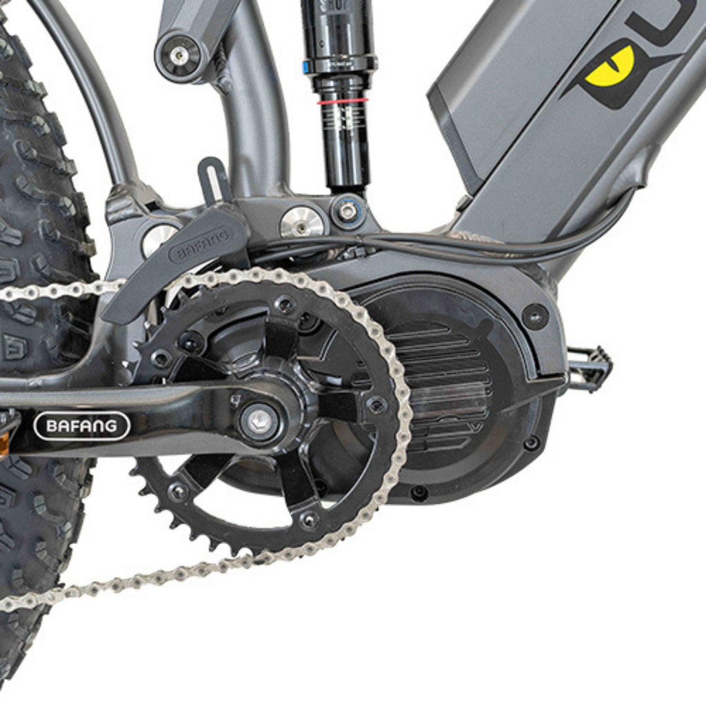 Quietkat Ridgerunner Electric Bike bafang motor close up