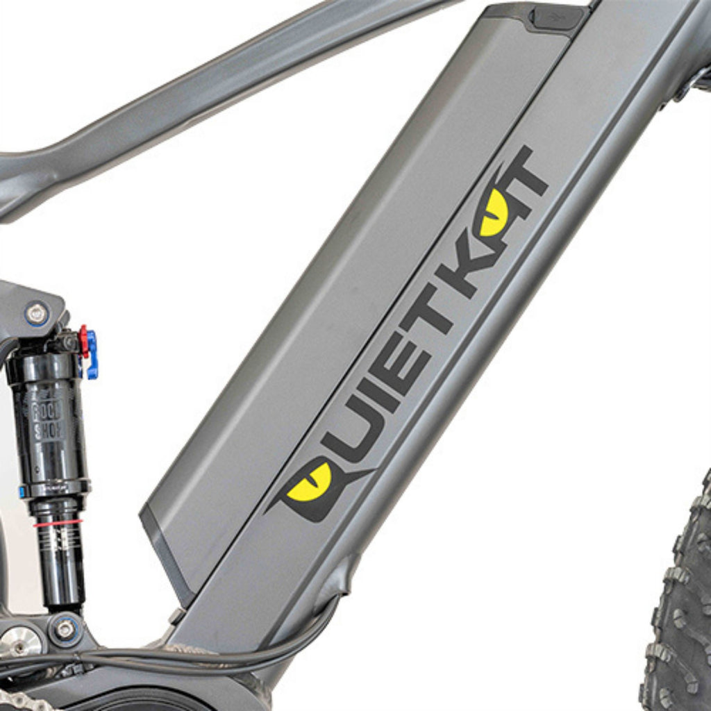 Quietkat Ridgerunner Electric Bike venter suspension