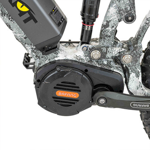 Image of Quietkat Ridgerunner Electric Bike pedals