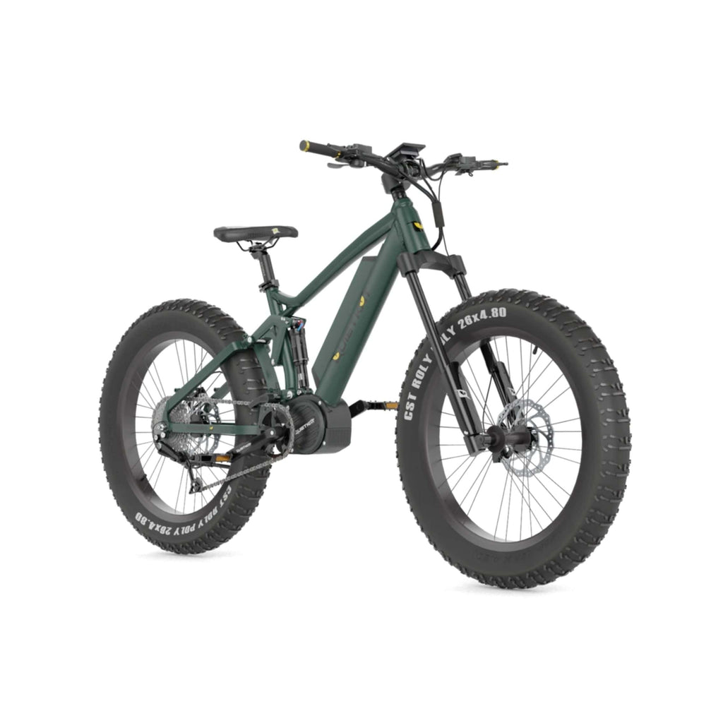 Quietkat Ridgerunner 2021 Electric Bike green front