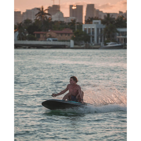 Image of Radinn electric Jetboard action shot