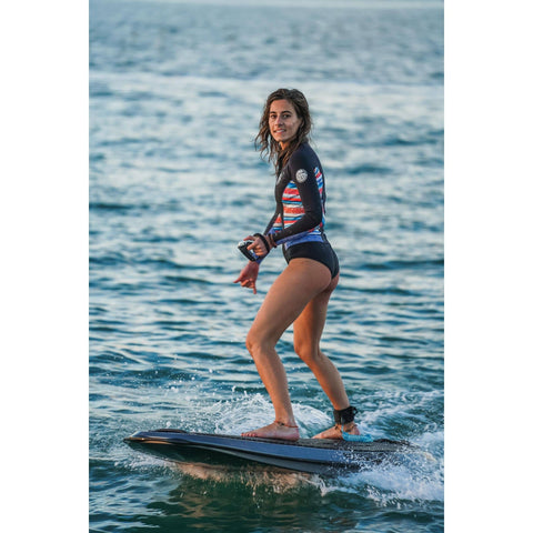 Radinn electric Jetboard action shot