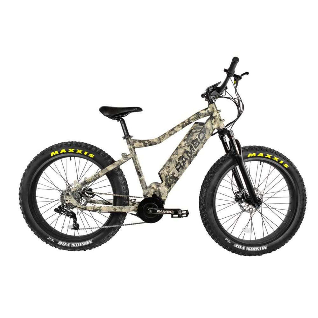 Rambo Nomad Electric Bike camo side