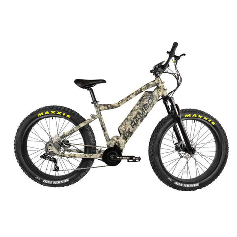 Image of Rambo Nomad Electric Bike camo side