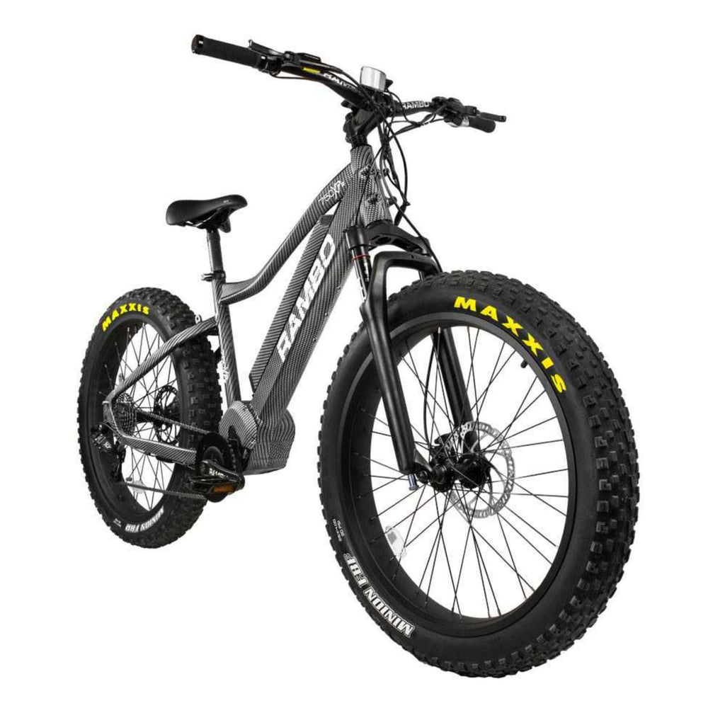 Rambo Nomad Electric Bike front angle