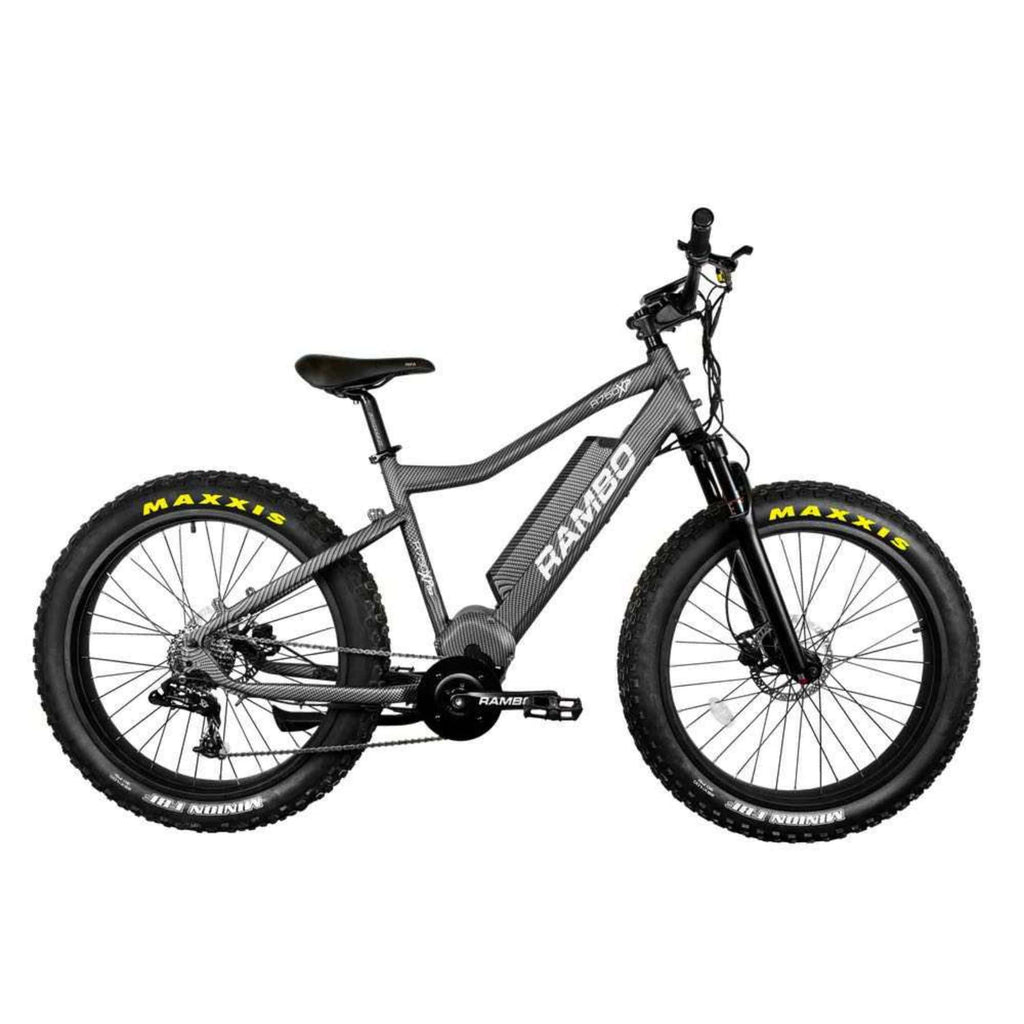 Rambo Nomad Electric Bike grey side