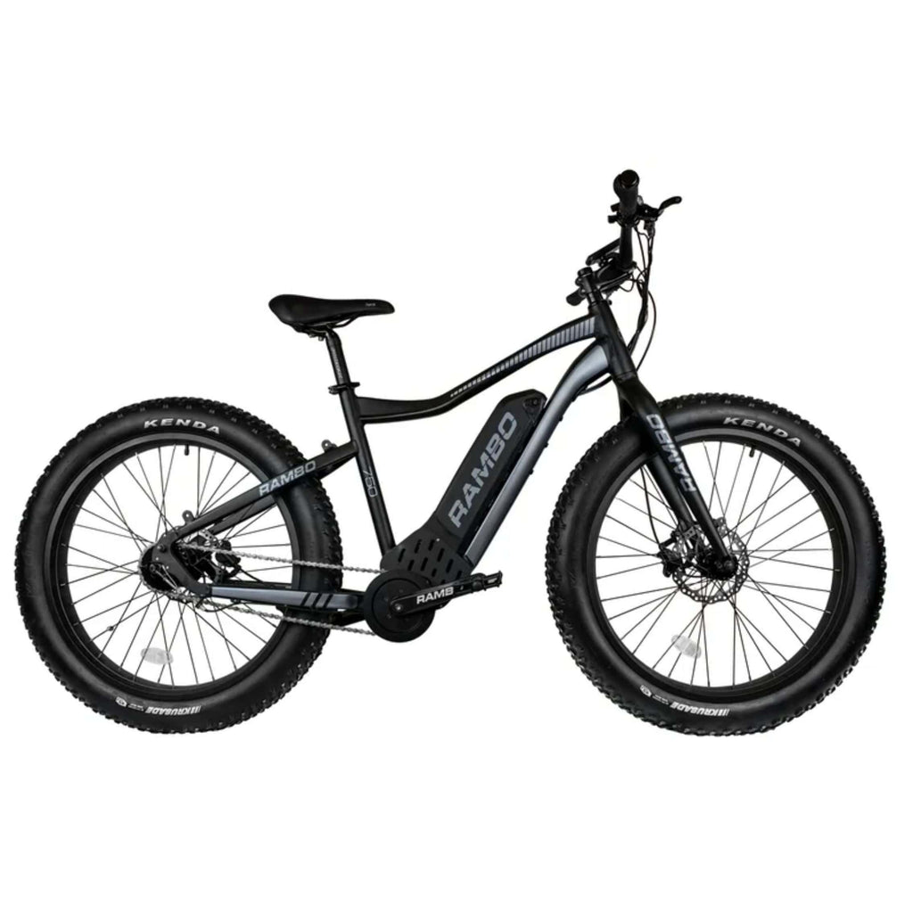 Rambo Pursuit Electric Bike side view