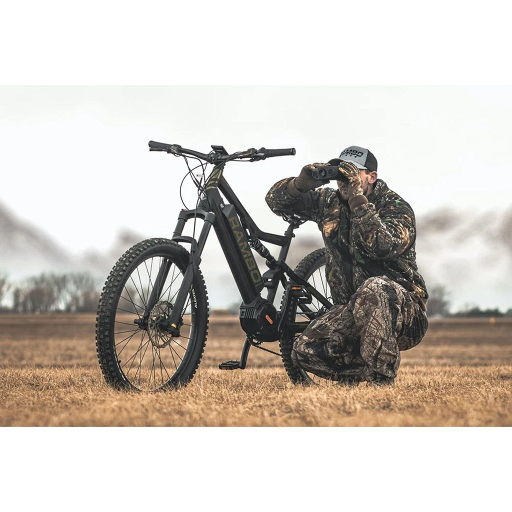 Rambo Rampage Electric Bike field