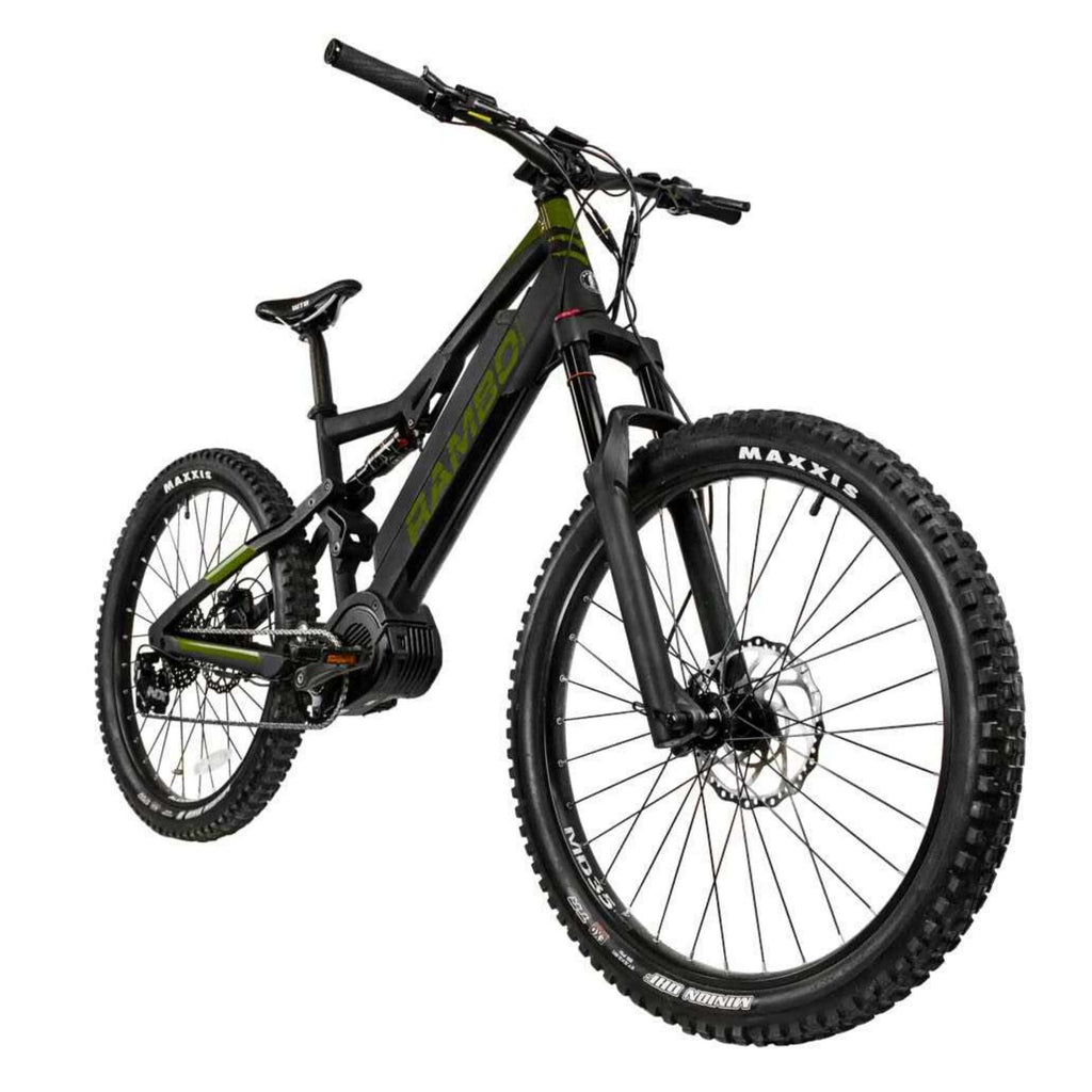 Rambo Rampage Electric Bike front angle