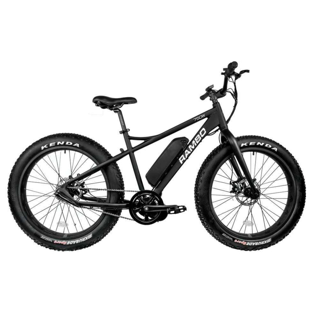 Rambo Savage Electric Bike side
