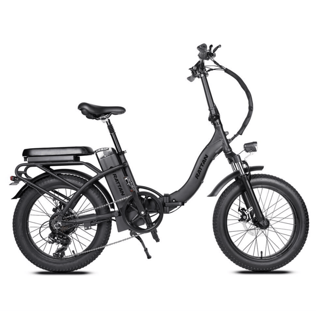 Rattan LF 500W Electric Bike black