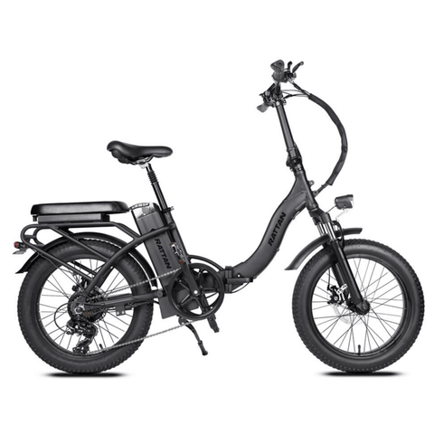 Image of Rattan LF 500W Electric Bike black