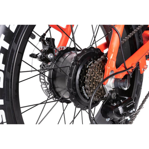Image of Rattan LF 500W Electric Bike chain