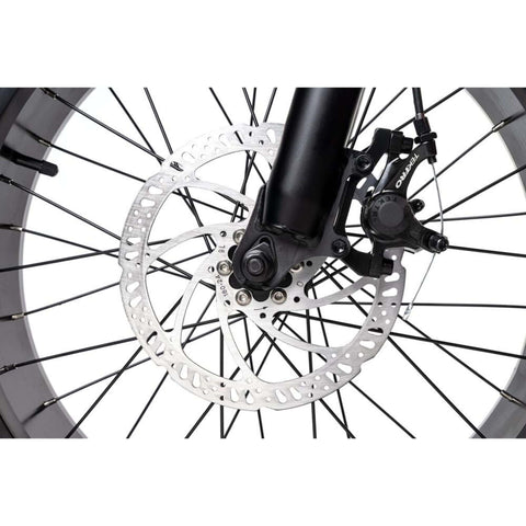 Image of Rattan LF 500W Electric Bike disc brakes