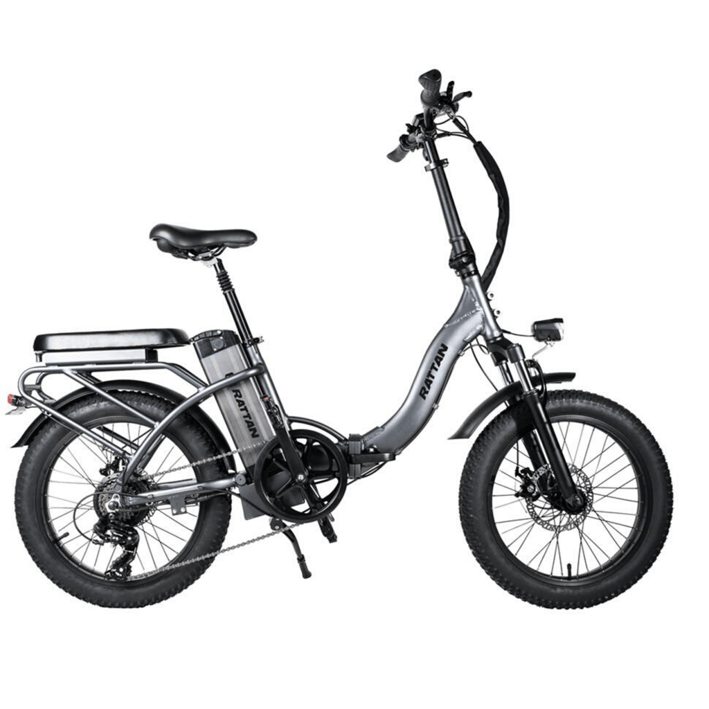 Rattan LF 500W Electric Bike grey
