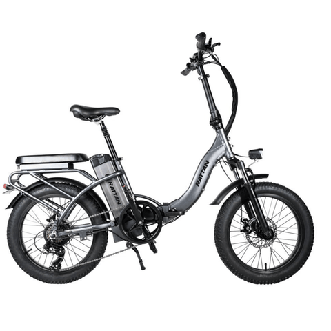 Image of Rattan LF 500W Electric Bike grey