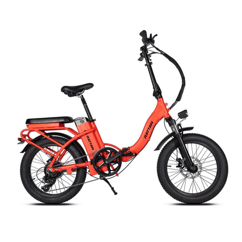 Image of Rattan LF 500W Electric Bike red