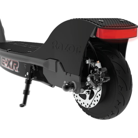Image of Razor E-XR Electric Scooter rear wheel view
