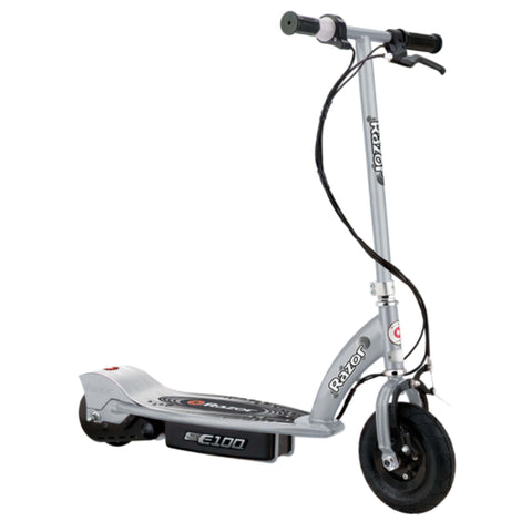 Razor E100 Electric Scooter silver