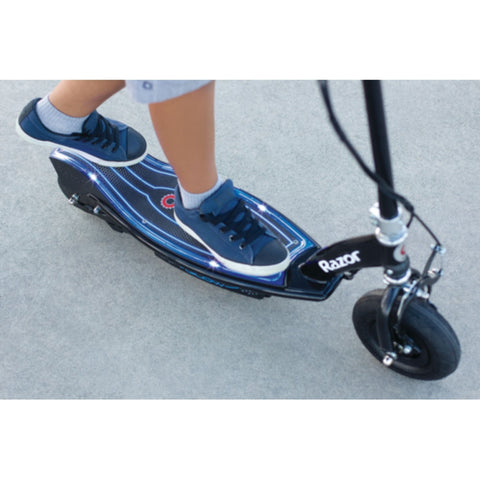 Image of Razor E100 Glow Electric Scooter riding