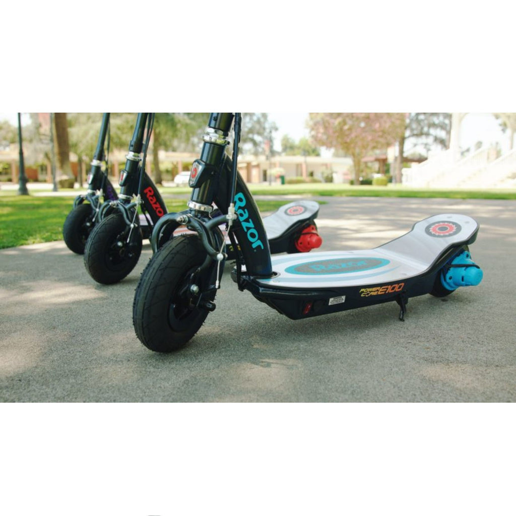 Razor E100 Power Core Aluminum Deck Electric Scooter 3 colors