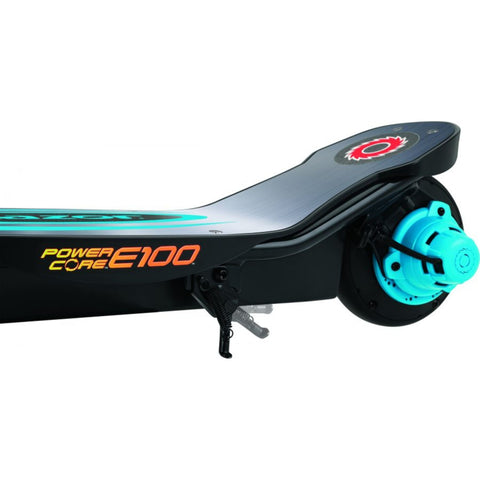 Image of Razor E100 Power Core Aluminum Deck Electric Scooter rear side