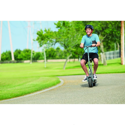 Image of Razor E300S Seated Electric Scooter action shot
