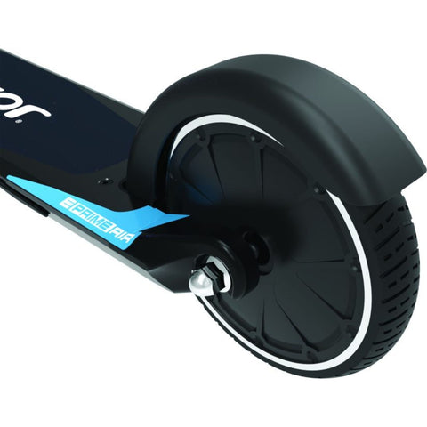 Razor E Prime Air Electric Scooter rear wheel close up