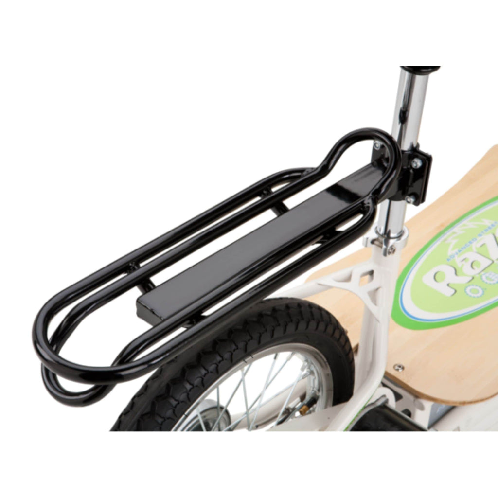 Razor EcoSmart Metro Electric Scooter rear rack