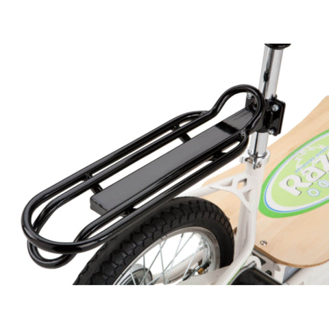 Image of Razor EcoSmart Metro Electric Scooter rear rack