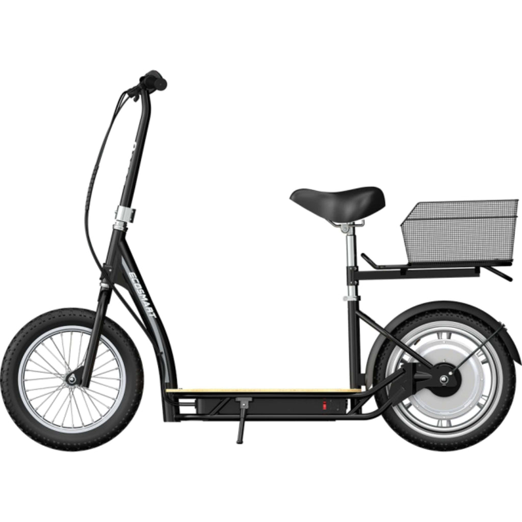 Razor EcoSmart Metro HD Electric Scooter side angle view