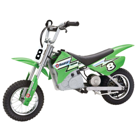 Image of Razor MX400 Dirt Rocket green side view
