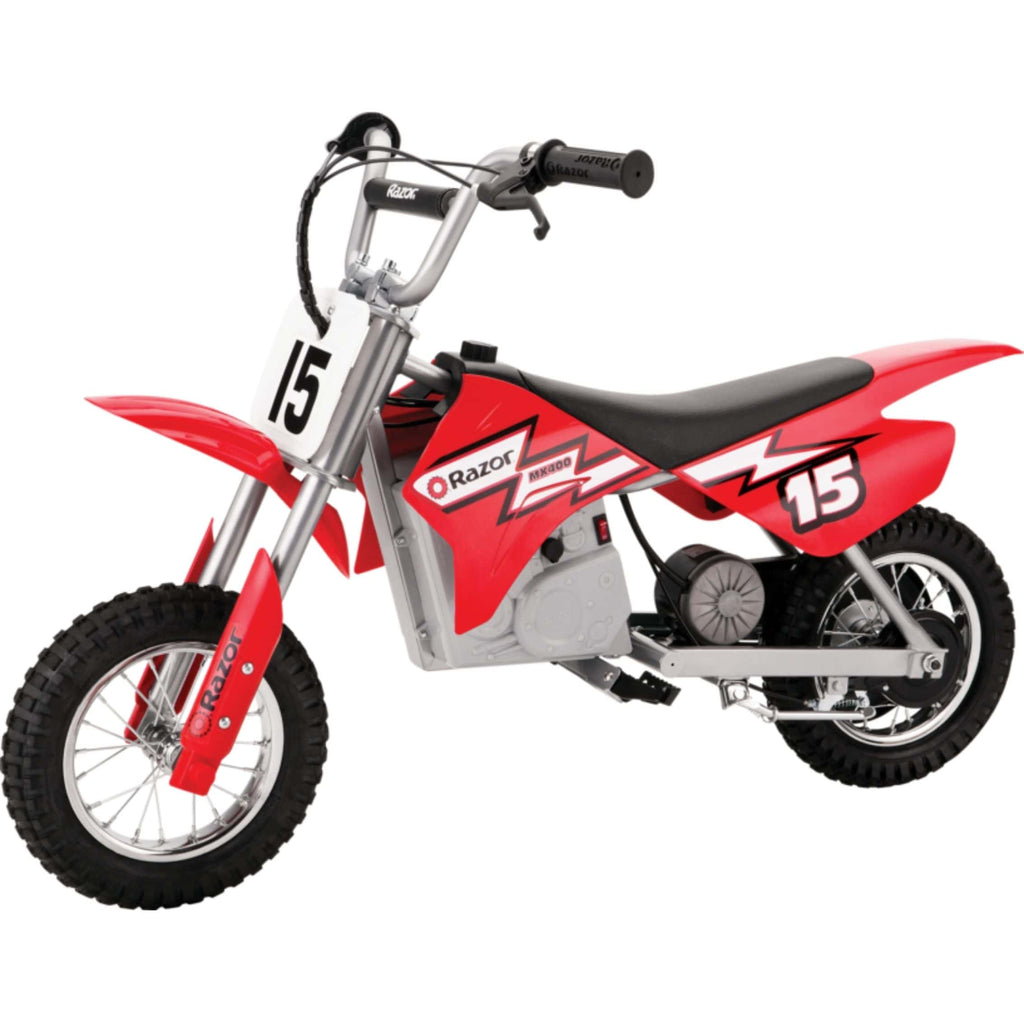 Razor MX400 Dirt Rocket red side view