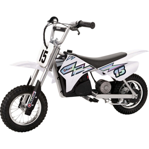 Image of Razor MX400 Dirt Rocket white side view