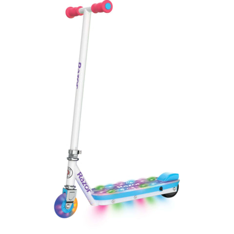 Image of Razor Party Pop Electric Scooter side angled view