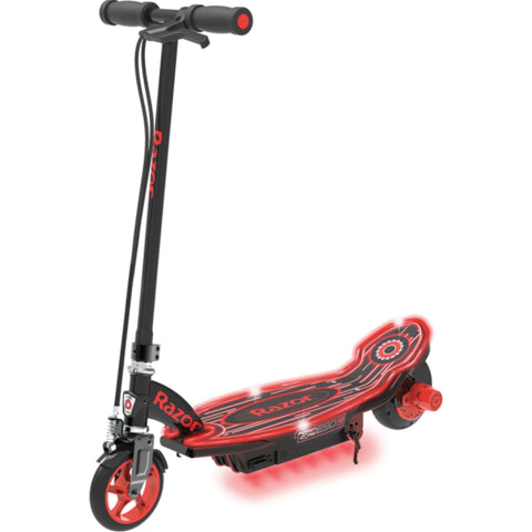 Image of Razor Power Core E90 Glow Electric Scooter side view