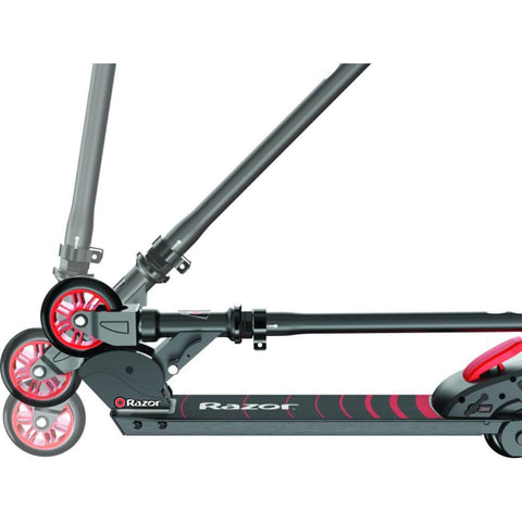 Image of Razor Turbo A Black Label Electric Scooter. foldable