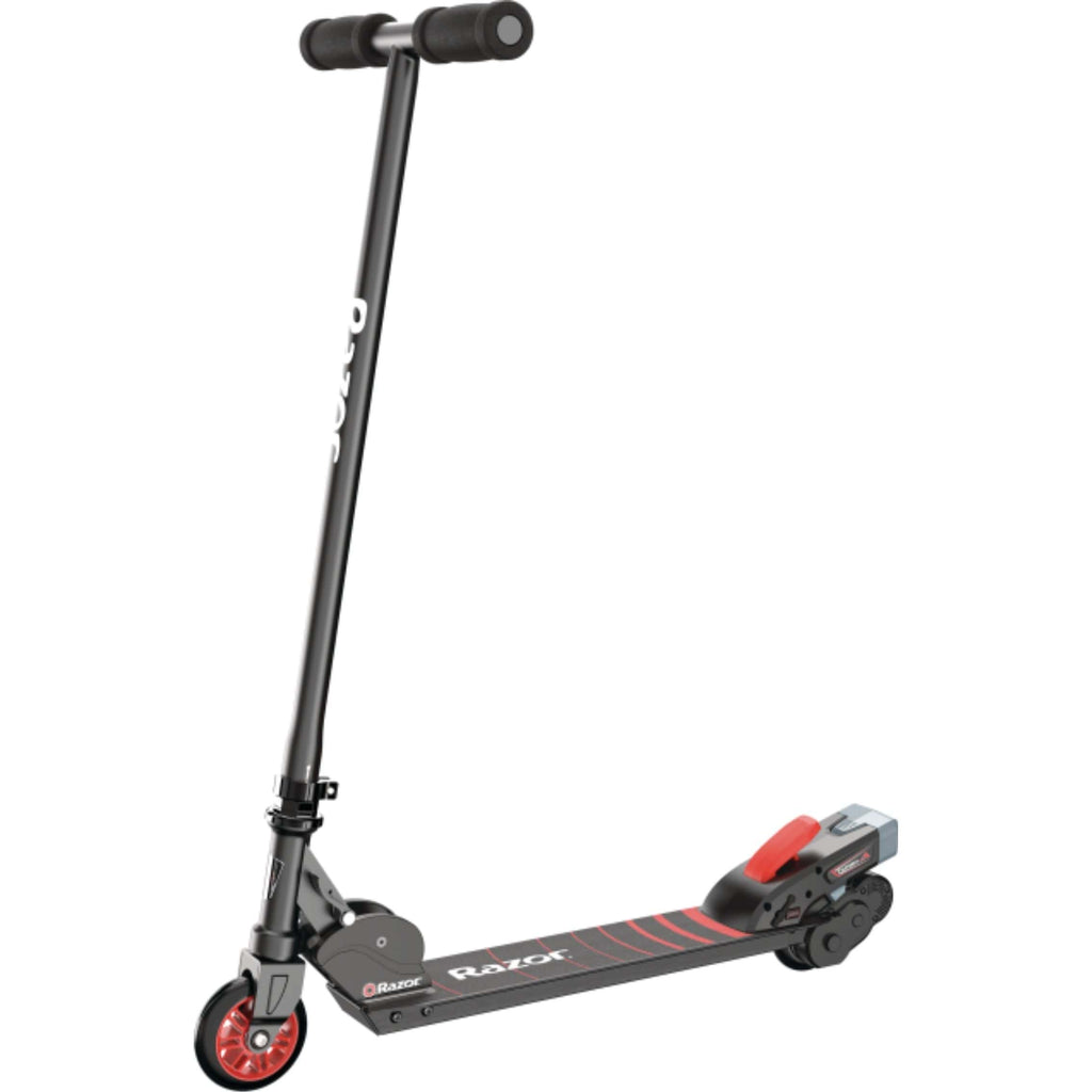 Razor Turbo A Black Label Electric Scooter frot angle
