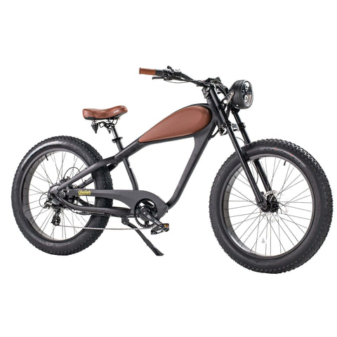 Image of Revi Bikes Cheetah Cafe Racer brown