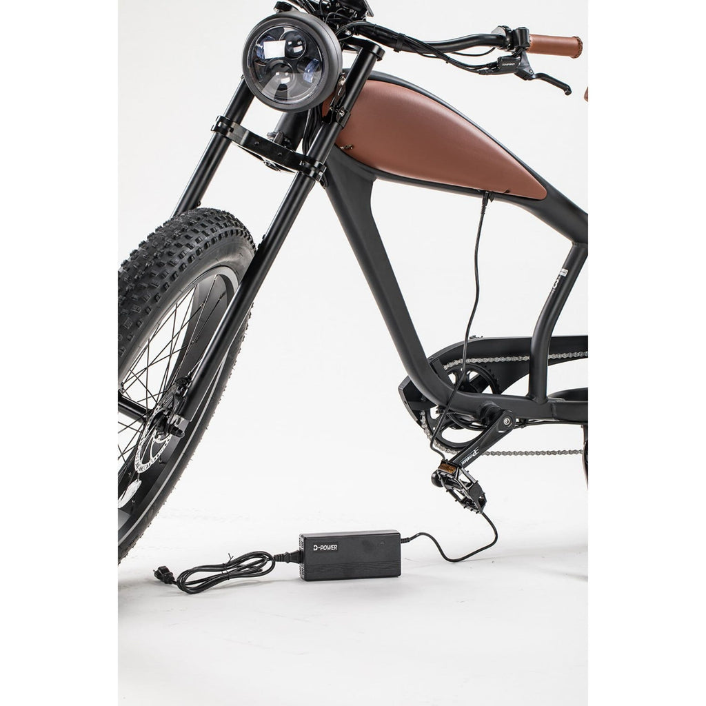 Revi Bikes Cheetah Cafe Racer charger