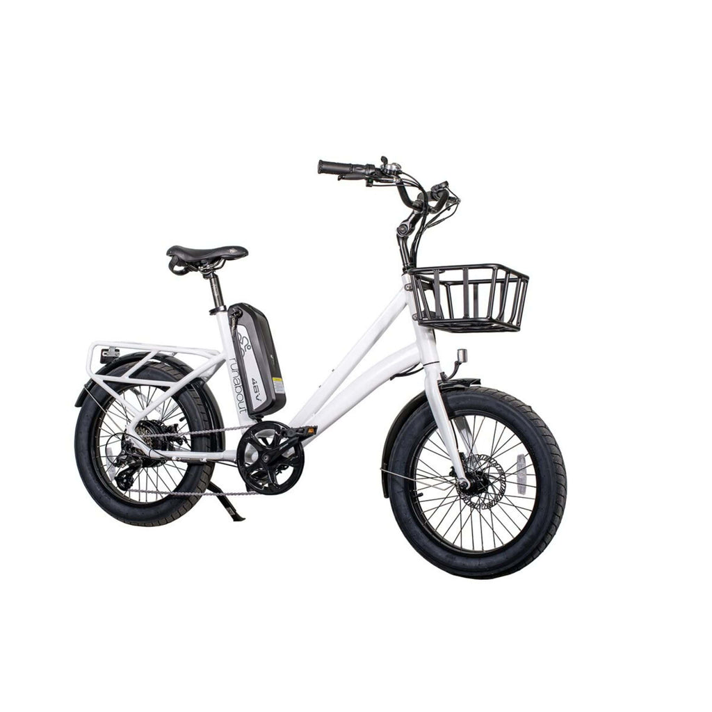 Revi Runabout Electric Bike white angled