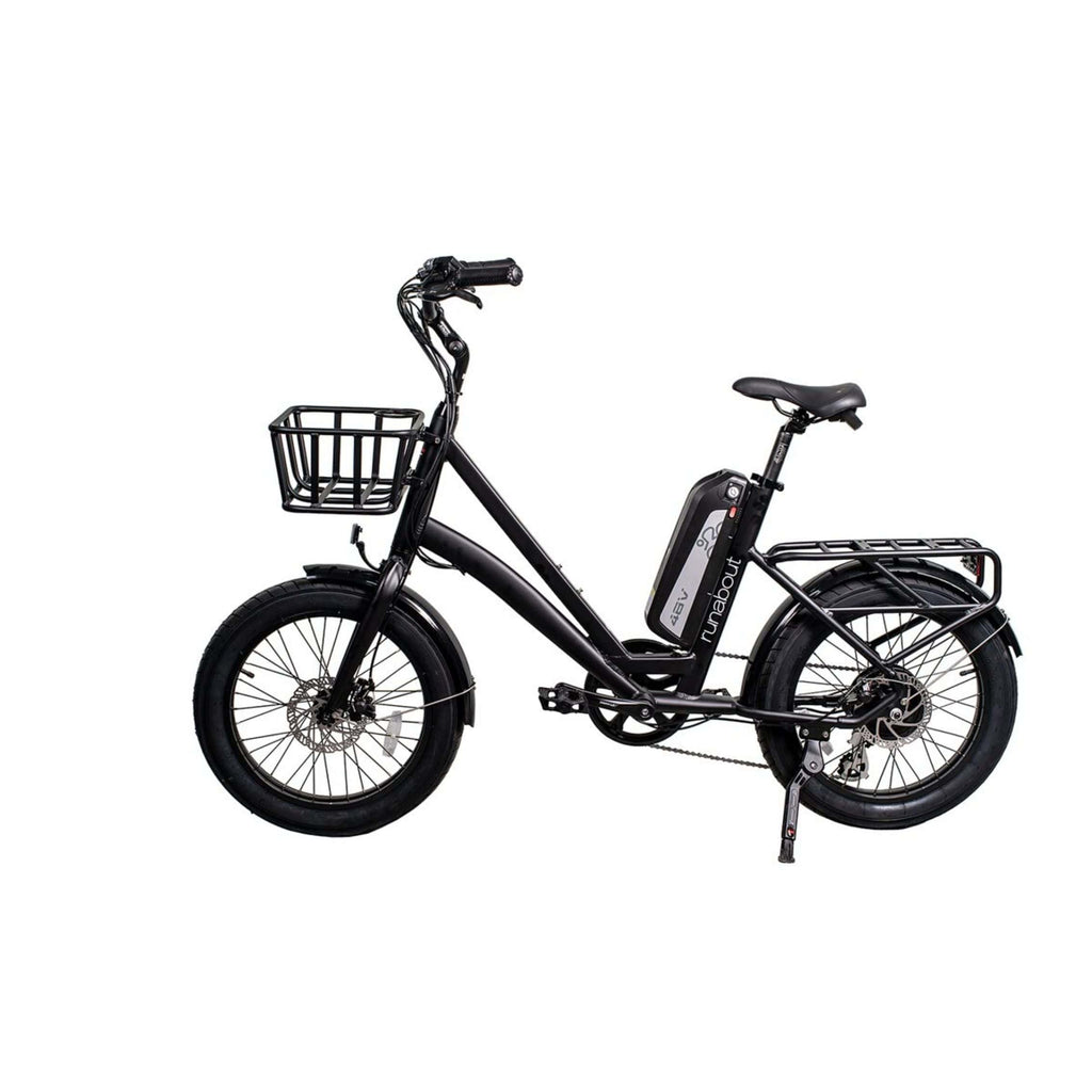 Revi Runabout Electric Bike black. side