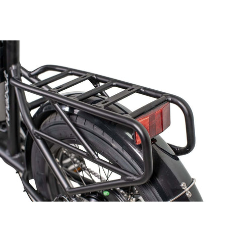 Image of Revi Runabout Electric Bike. rear rack