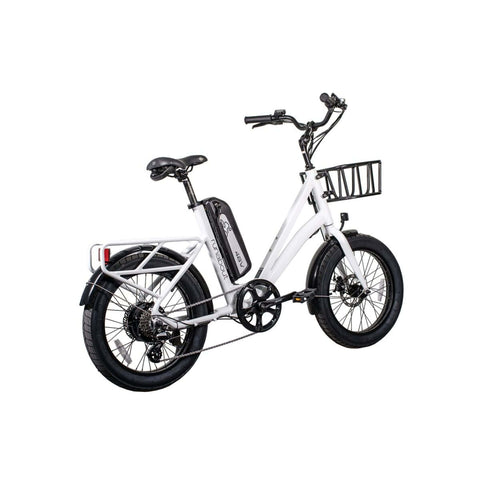 Image of Revi Runabout Electric Bike white rear angle