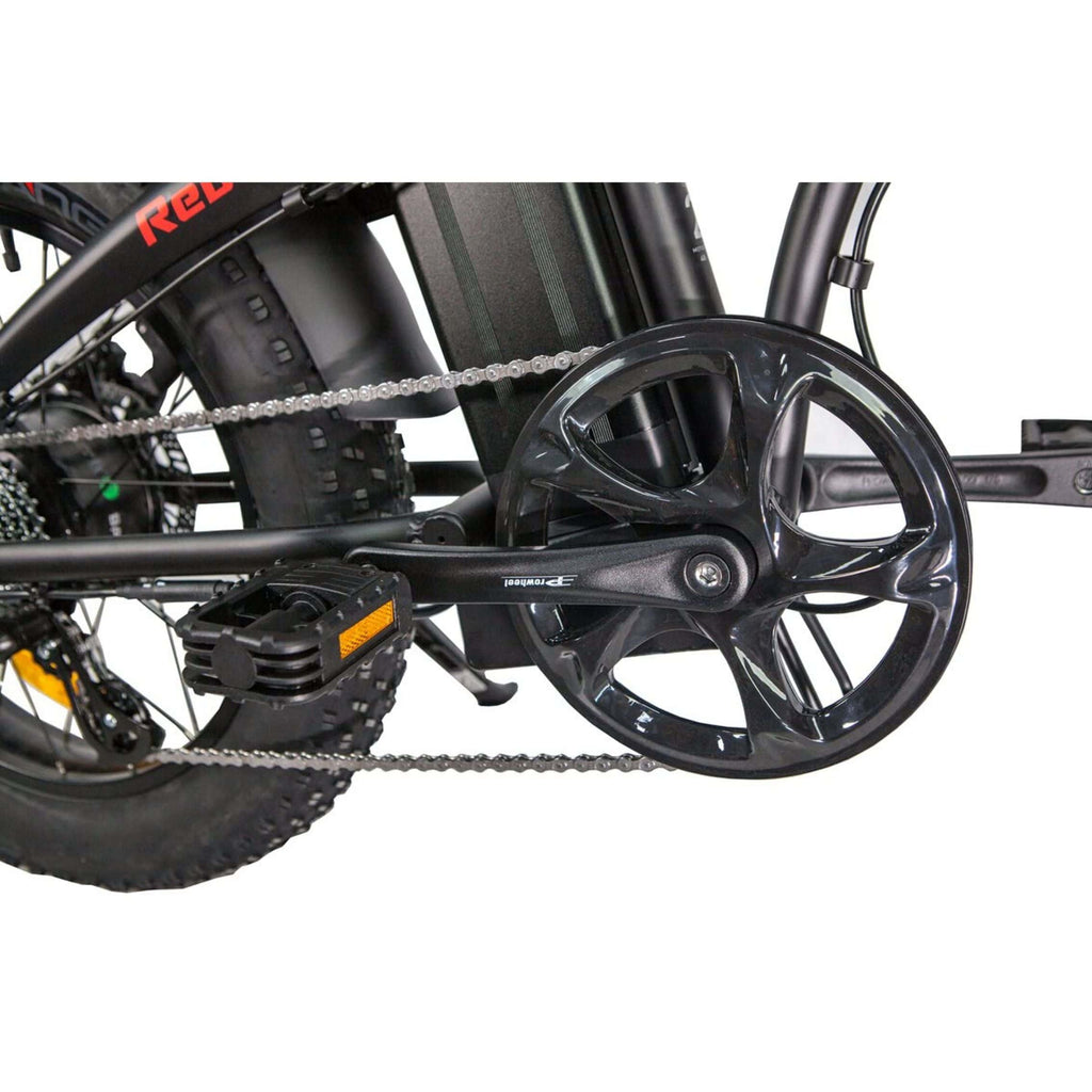 Revi Rebel 1.0 Foldable Electric Bike pedals