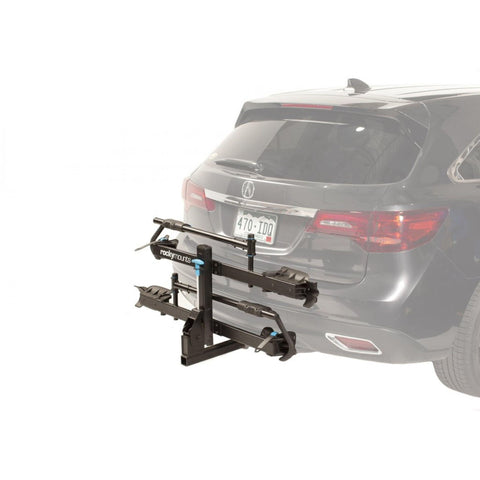Rocky Mount Monorail Hitch Bike Rack side angle