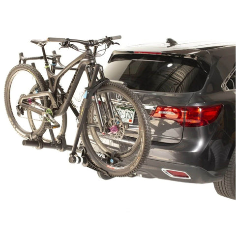 Rocky Mount WestSlope Hitch Bike Rack rear with 2 bikes
