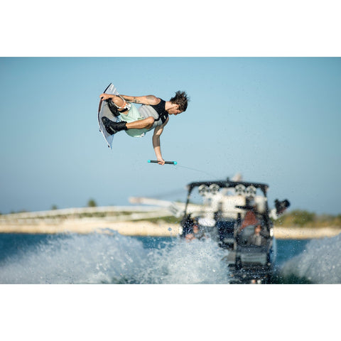 Image of Ronix RXT wakeboard action shot