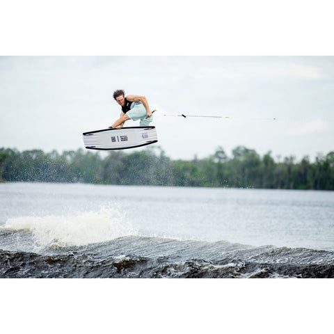 Image of Ronix RXT wakeboard  jumping shot