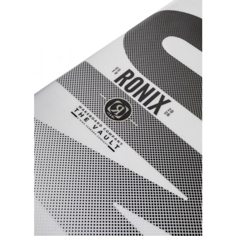 Ronix Vault side of board and logo close up